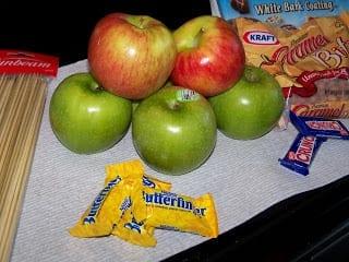 Menu Monday & Butterfinger Caramel Apples