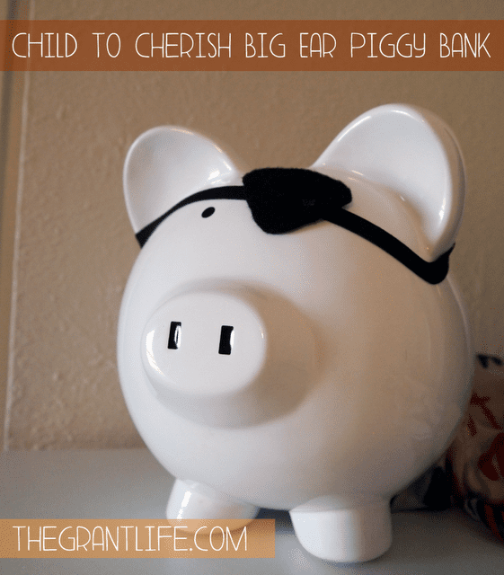 Child to Cherish – Big Ear Piggy Bank