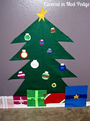 Felt Christmas Tree Tutorial 3