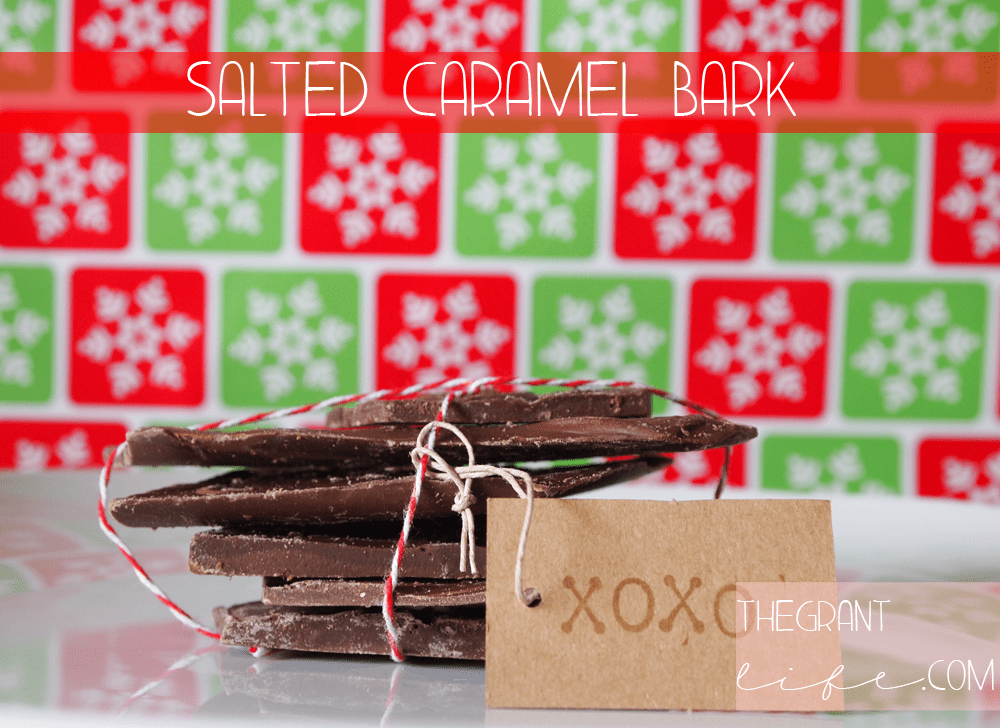 Easy Homemade Recipe: Salted Caramel Bark