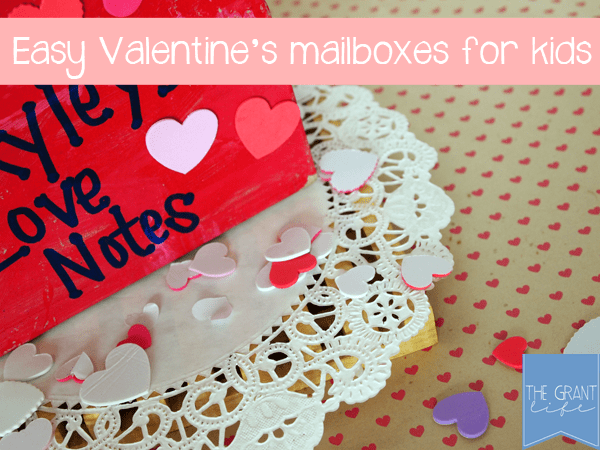 Activities for Kids - East Valentines mailboxes for kids