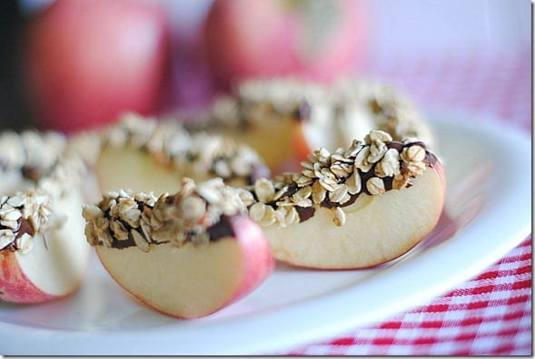 apple wedges healthy eating