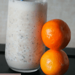 breakfast smoothie with chia