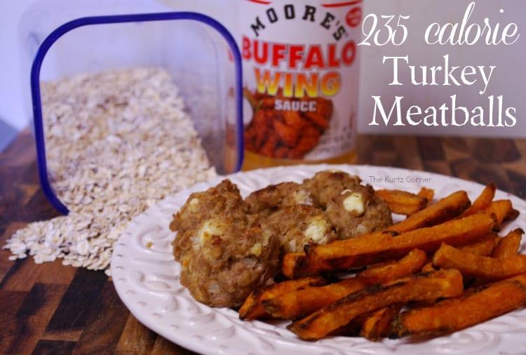 hot wing turkey meatballs