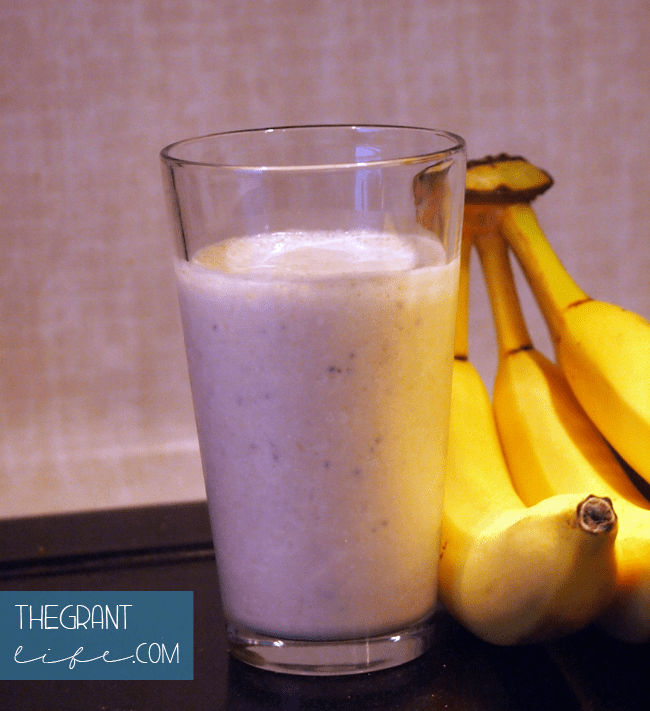 Healthy Eating: Peanut Butter Banana Smoothie