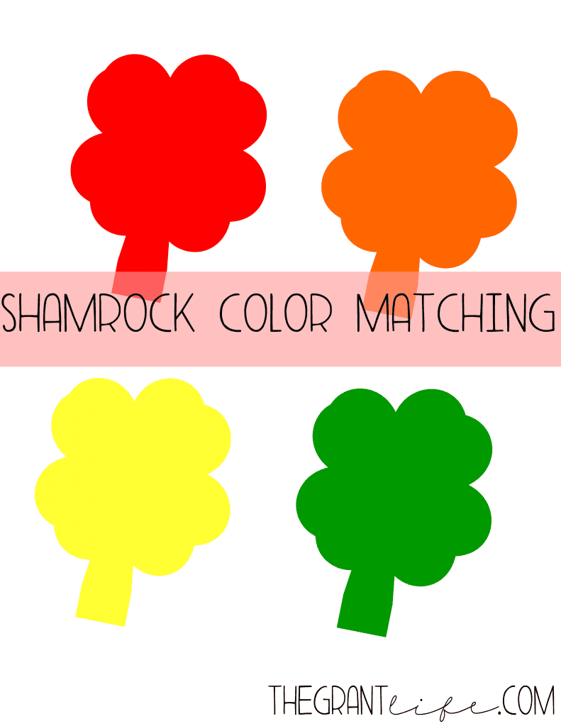 Activities for Kids - Shamrock Printable For Kids
