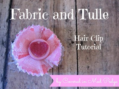 Valentine's Hair Clip Tutorial 9