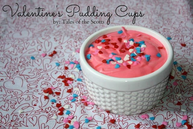Valentine's Pudding Cups 1