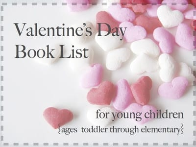 valentine book list
