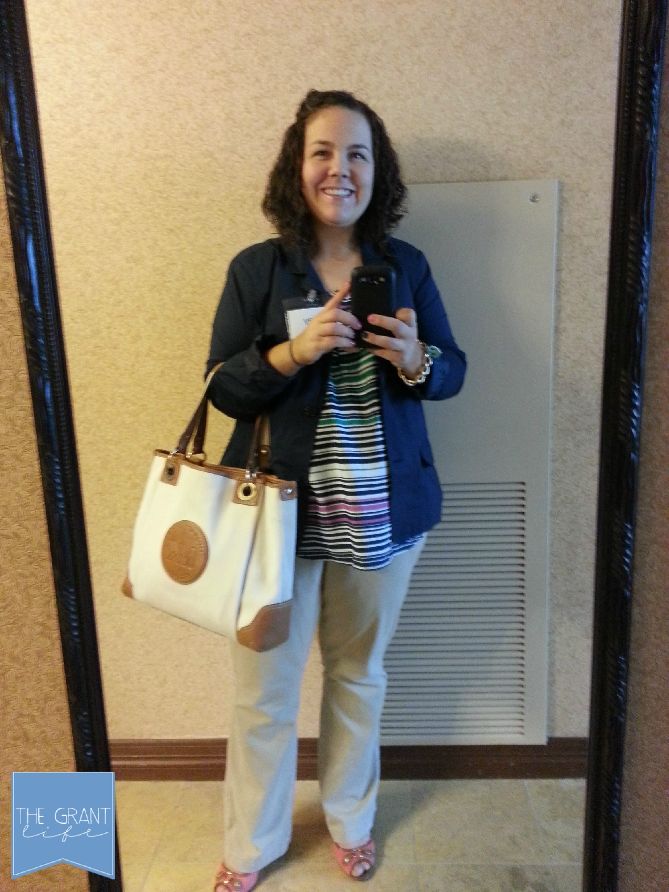 What I Wore – Blissdom Edition