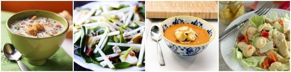 Artichoke Soup and Salad Recipes