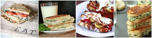 Artichoke sandwiches