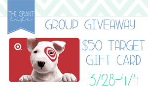 Enter to win a $50 Target Gift Card from @thegrantlife #giveaway #target