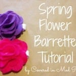 Spring Flower Barrette 7