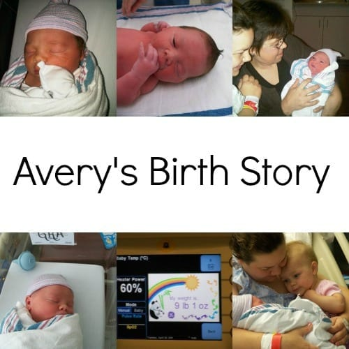 Avery's Birth Story