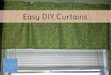 Easy DIY Curtains - the Grant life