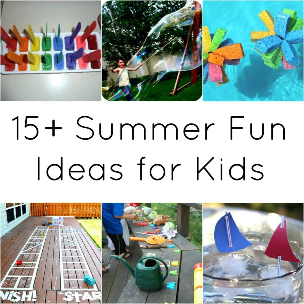 15 plus summer fun ideas for kids via anightowlblog.com