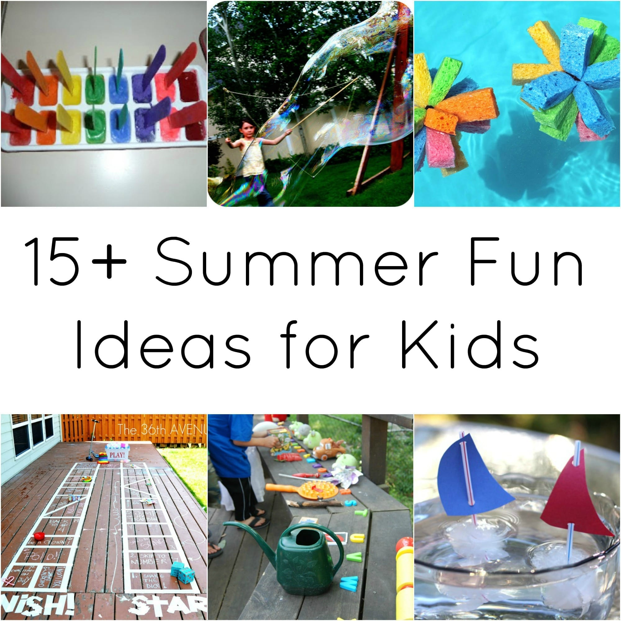 15 summer fun ideas for kids - Summer Pictures For Kids