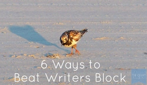 6 Ways to beat writers block