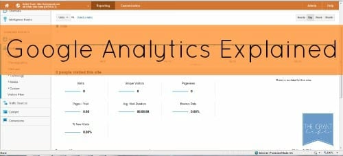 Google Analytics Explained - Traffic, Referring Sites and Keywords via thegrantlife.com