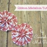 Ribbon Medallion Tutorial 9