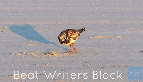 Ways to beat writers block - Scheduling Posts