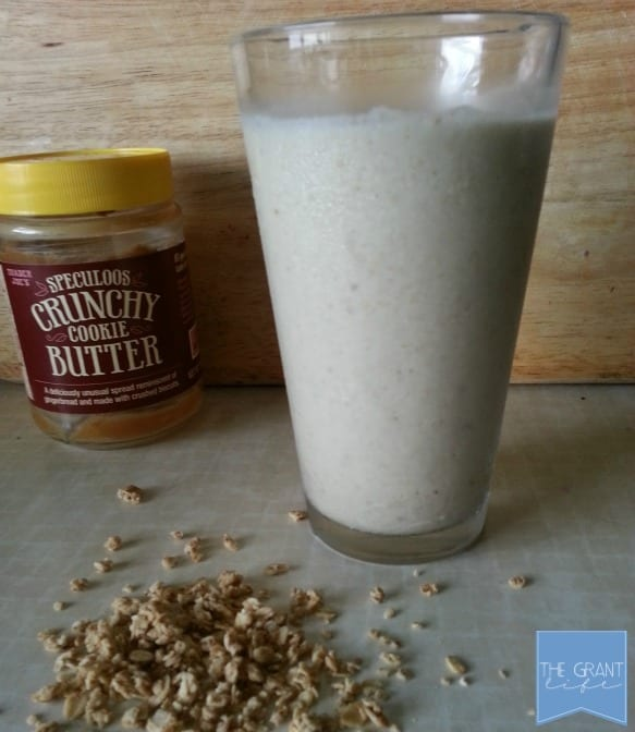 Cookie butter smoothie recipe