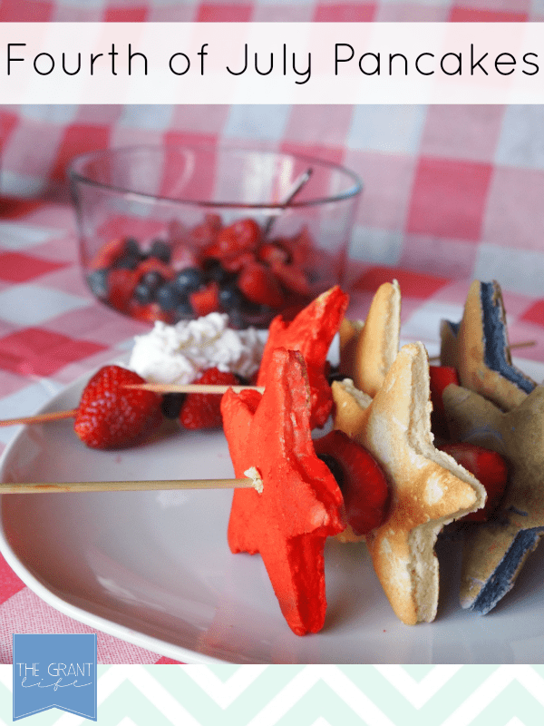 Fourth of July Pancakes