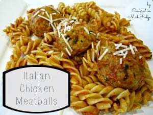 Italian Chicken Meatballs 8