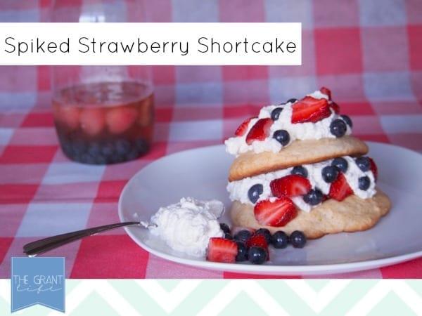 Spiked Strawberry Shortcake