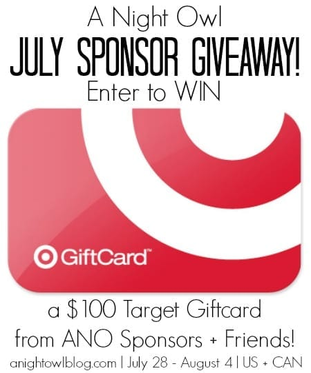 ANO July Sponsor Giveaway