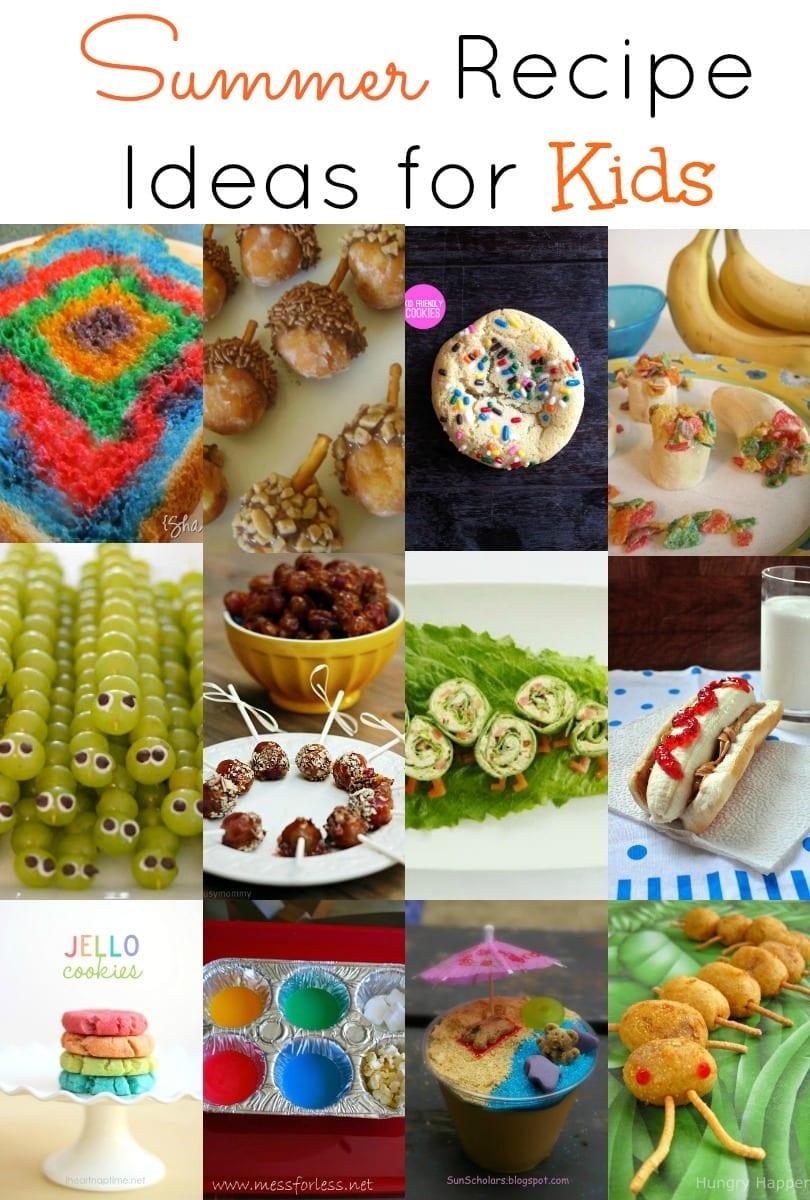 Summer Recipe Ideas for Kids