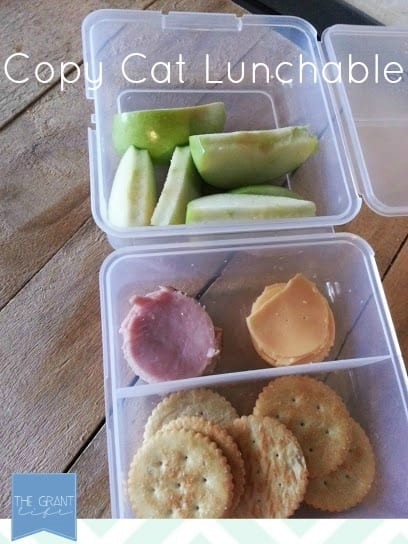 copycay lunchable for back to school