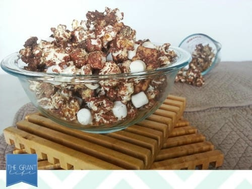 easy homemade recipes smores popcorn