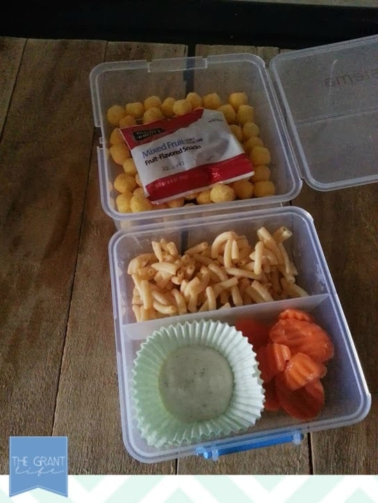 Back to School Lunch Idea: Mac 'n Cheese