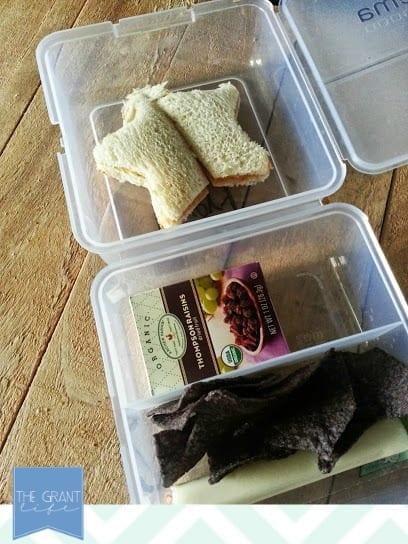Back to School Lunch Idea: Healthy PB&J