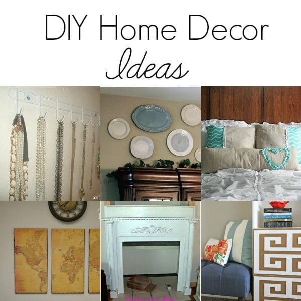 Easy Home Decor Ideas: DIY Home Decor Ideas