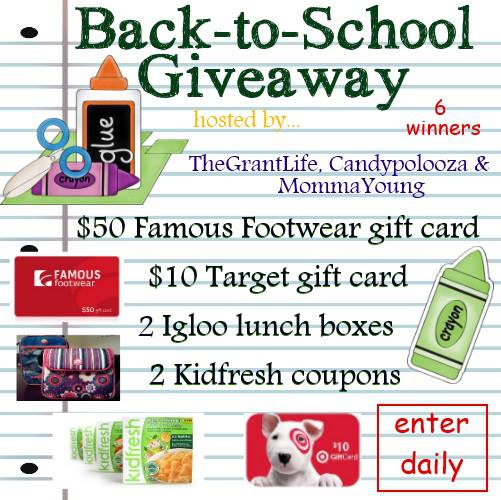 Enter to win some back to school goodies!