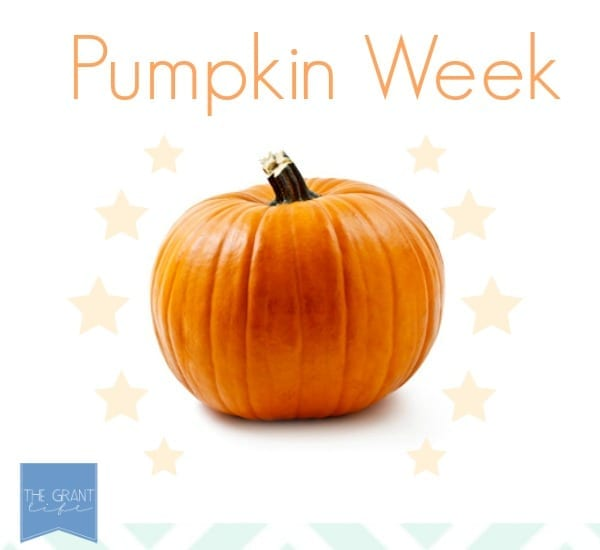 Pumpkin week at thegrantlife.com!