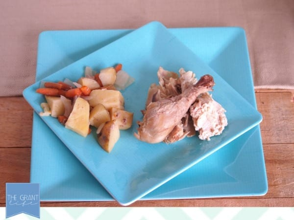 easy whole chicken in a crock pot
