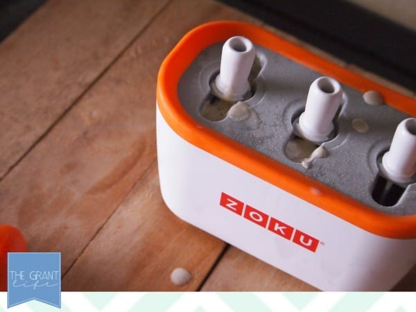 using the zoku popsicle maker