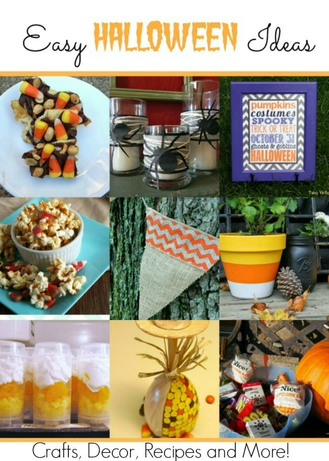 Easy Halloween Ideas that anyone can do!