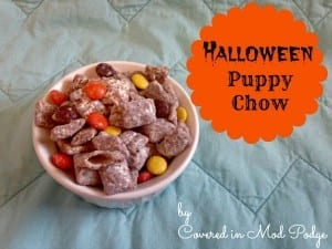 Halloween Puppy Chow 1