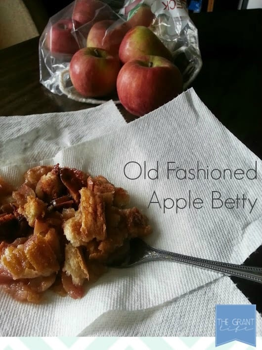 easy homemade recipes old fashioned apple betty
