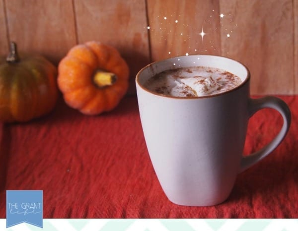 pumpkin spice chai latte.. looks so good!