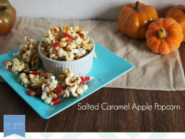 salted caramel apple popcorn - looks so good!