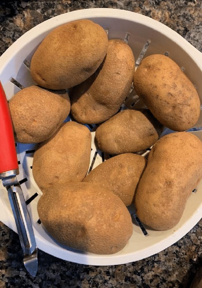 Crock pot loaded mashed potatoes(4)