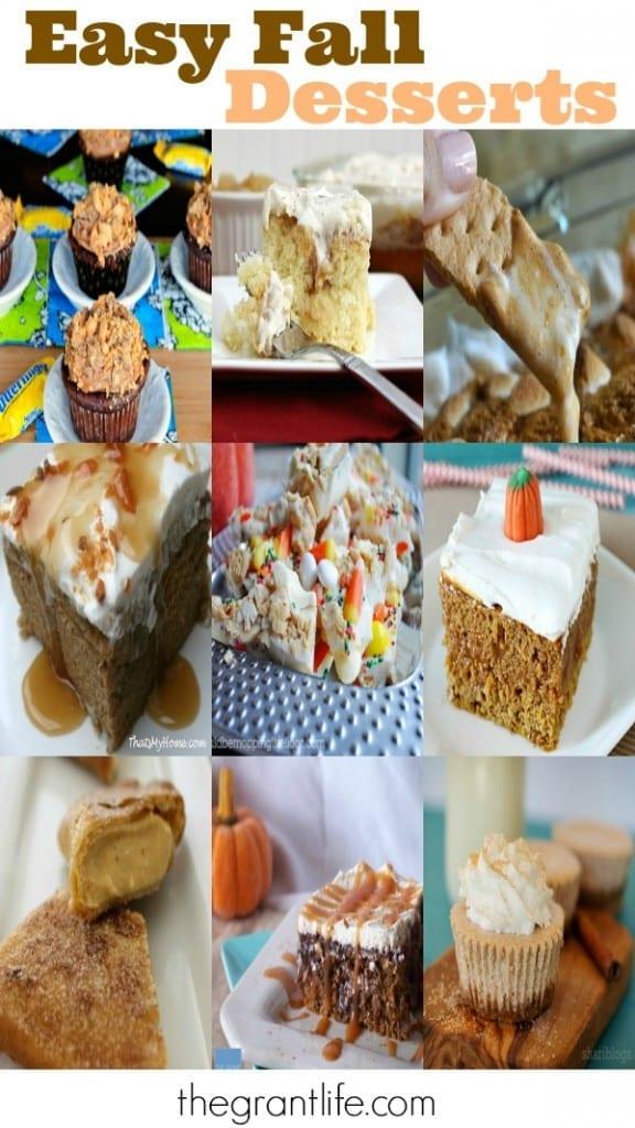 Easy Fall Dessert Ideas via thegrantlife.com
