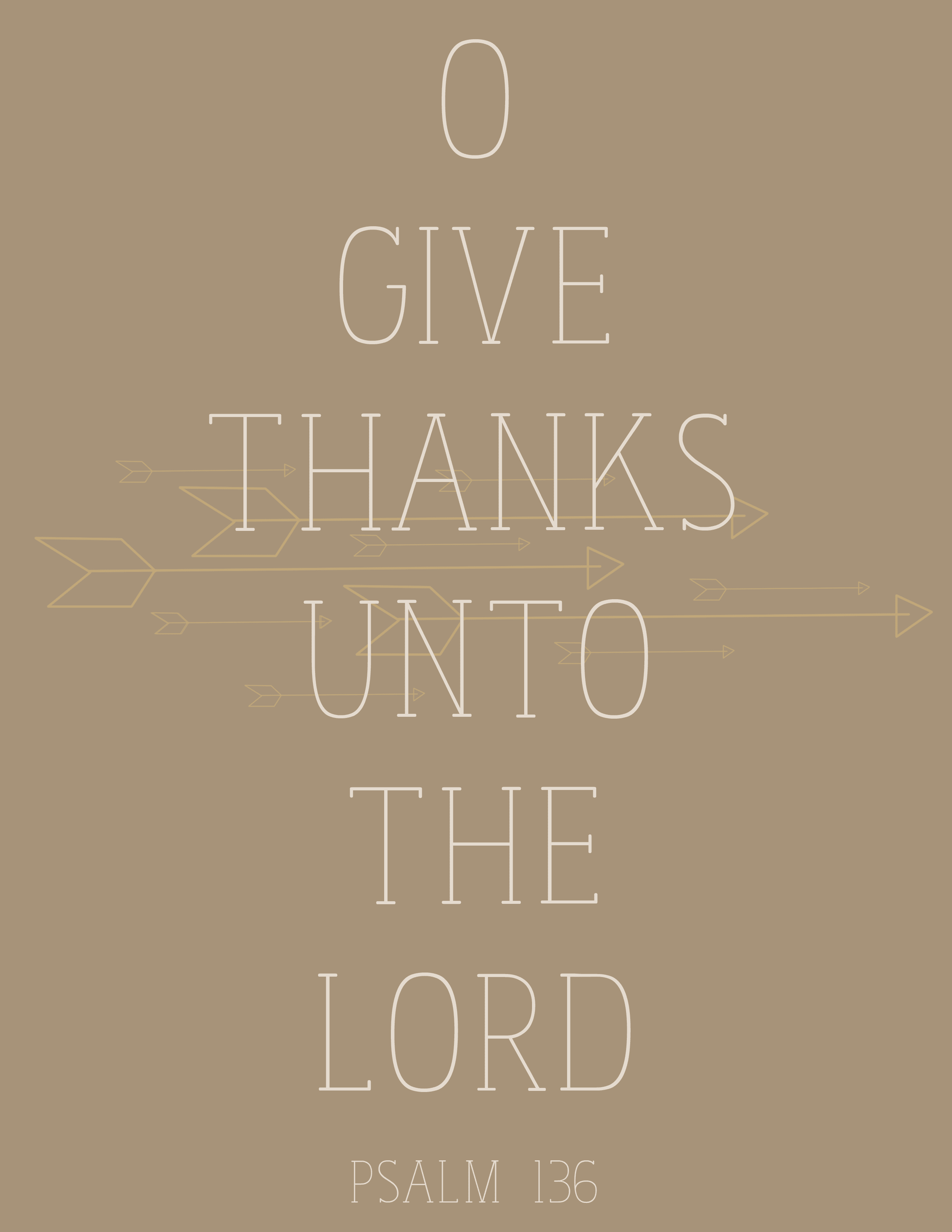 Free Printable: Give Thanks