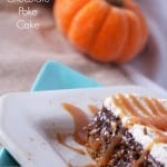Pumpkin chocolate poked cake via thegrantlife.com.  So easy, so good!  #pumpkin #cake #fall